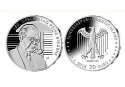 20 Euro Duitsland 2018 A Peter Behrens Unc