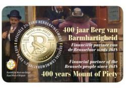 "België 2018 2½ Euro 'Berg van Barmhartigheid"" Bu in coincard Vlaams"