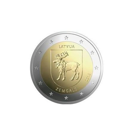2 Euro Letland 2018 Zemgale Unc Voorverkoop*