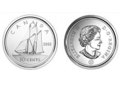 Canada 2018 10 Cent Unc