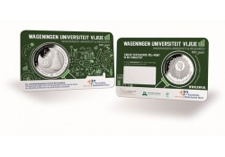 Nederland 2018 5 Euro Universiteit Wageningen Bu in coincard