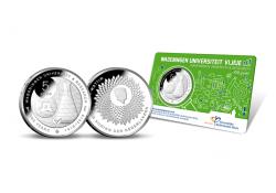 Nederland 2018 5 Euro Universiteit Wageningen Unc in coincard Voorverkoop*