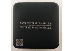 Malta Doosje geschikt voor de 10 euromunten Zilver Proof