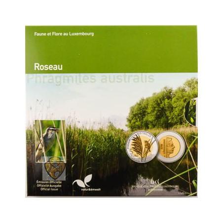 Luxemburg 2018 5 euro Roseau Proof