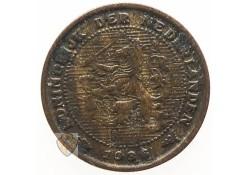 ½ Cent 1936 Zf- Wilhelmina