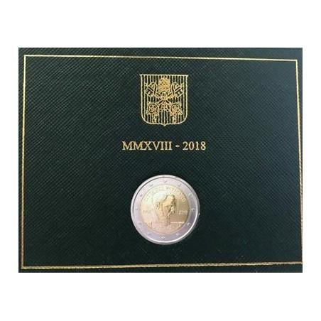 2 Euro Vaticaan 2018 Padre Pio Bu Voorverkoop*
