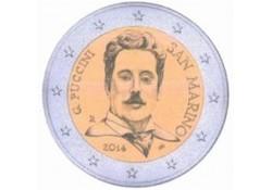 2 Euro San Marino 2014 Giacomo Puccini