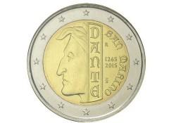 2 Euro San Marino 2015 Bu 750e geboortedag van Dante Alighieri  Unc