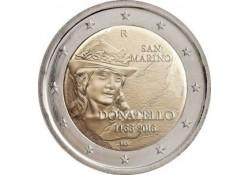 2 Euro San Marino 2016 550-ste sterfdasg van  Donatello in blister