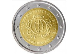 2 Euro San Marino 2017 Int.jaar van toerisme & ontwikkeling in blister  Voorverkoop*