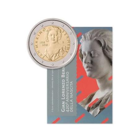 2 Euro San Marino 2018 Bernini in blister