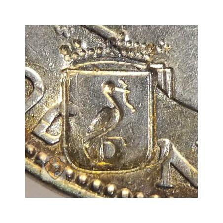 2½ Gulden 1961 Met klop  Stichting Numismatica 1977 Den Haag
