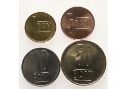 Roemenië 2018 1,5,10 & 50 Bani Unc