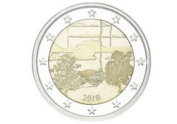 2 euro Finland 2018 Finse Sauna Unc Voorverkoop*