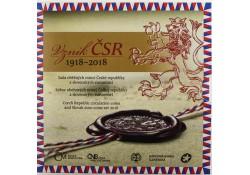 Bu set Slowakije 2018 1918-2018 Tjechische republiek & Slowakije