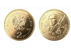 Polen 2004 2 Zlote Stanislaw Sosahowski Unc