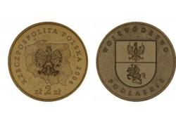 Polen 2004 2 Zlote Podlaskie Unc