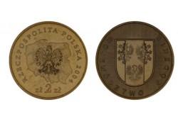 Polen 2004 2 Zlote Wapen Lodzkie Unc