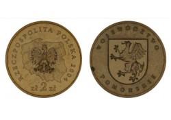 Polen 2004 2 Zlote Pomorskie Unc