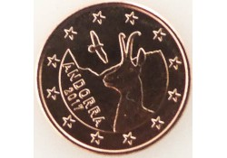5 Cent Andorra 2017 Unc