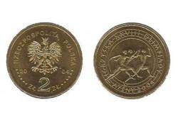 Polen 2004 2 Zlote Olympics in Athene Unc