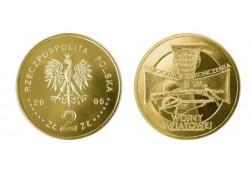 Polen 2005 2 Zlote 60 jaar vrede Unc