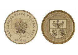 Polen 2005 2 Zlote W. Warminsko Mazurskie Unc
