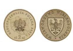 Polen 2005 2 Zlote Wielko-Polski Unc