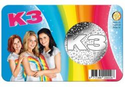 België 2018 K3-penning in coincard Voorverkoop*