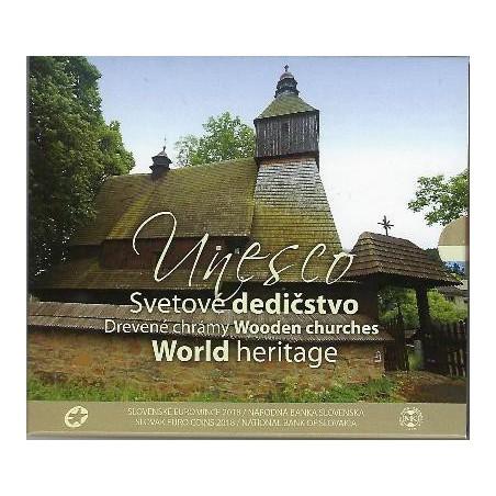 Bu set Slowakije 2018 Unesco World Heritage