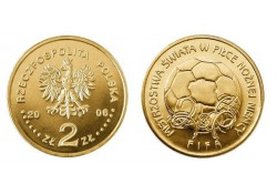 Polen 2006 2 Zlote Voetbal Unc