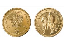 Polen 2006 2 Zlote Historische ridder Unc