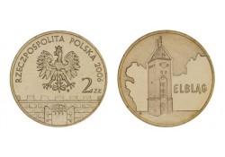 Polen 2006 2 Zlote Elblag Unc