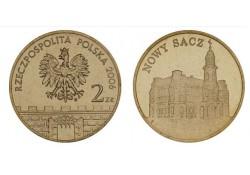 Polen 2006 2 Zlote Nowy Sacz Unc