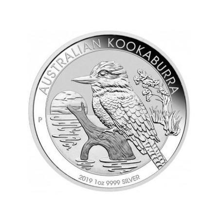 Australië 1 Dollar Kookaburra 2019 1 ounce Silver