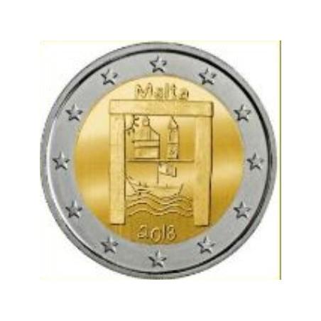 2 Euro Malta 2018 Cultureel erfgoed Unc Voorverkoop*
