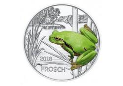 Oostenrijk 2018 3 euro Kikker Unc Voorverkoop*
