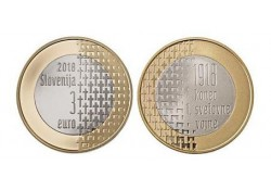 3 Euro Slovenië 2018