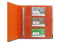 Coincard aanvulbladen voor album KNM (set van 3 stuks)