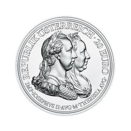 Oostenrijk 2018 20 Euro Prudence and Reform Proof