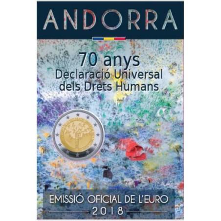 2 Euro Andorra 2018 Constitutie in Blister