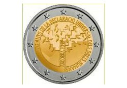2 Euro Andorra 2018 Rechten van de mens in Blister Voorverkoop*