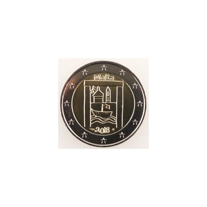 2 Euro Malta 2018 Cultureel erfgoed Unc met Muntteken