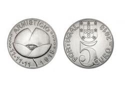 Portugal 2018 5 Euro Armistice Unc