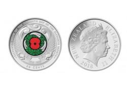 Nieuw Zeeland 50 Cents Unc Centanary of the 1918 Armistice