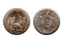 Swaziland 2018 5 Emalangeni Unc 50 years independence