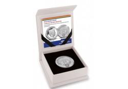 5 Gulden Nederlandse Antillen 2018 Proof zilver190 jaar centrale bank