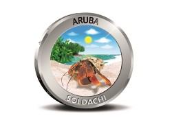 """Aruba 2018 5 Florin """"Soldachi Zilver Proof Voorverkoop*"""