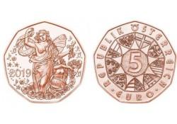 5 Euro Oostenrijk 2019 Levensvreugde Unc Voorverkoop*
