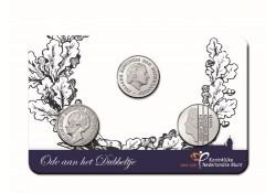 Nederland 2018 Ode aan het dubbeltje in coincard